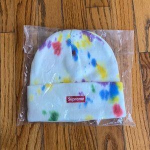 Supreme Splatter dyed beanie